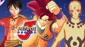 wallpaper animasi one piece bergerak j patrol new naruto vs one piece vs dragon ball z video game youtube