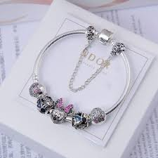 european charm bracelet clasp images 925 sterling silver charms minnie pave cz european charm bracelet jpg