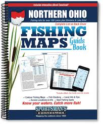 Southern Ohio Map northern ohio fishing map guide sportsman u0027s connection jim