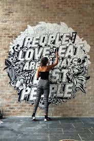 Sharpie Wall Mural Louisville Forward Murals By Bryan Todd Signage Environmental