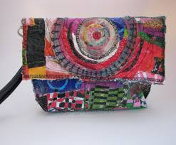 Upcycled Art - one of a kind upcycled bags boho chic u p c y c l e d art