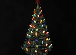 multi color tree lights solar 100 led string fia