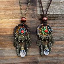 charm leather necklace images Shop native american leather jewelry on wanelo jpg