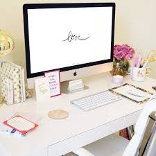 Computer Desk Inspiration Click The Photo To Shop The Look Kristin Brophy Of Fancy Things