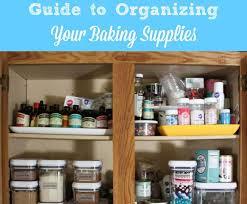baking container storage ways to organize your baking supplies