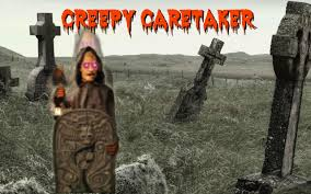 spirit halloween greensboro creepy caretaker animated prop youtube