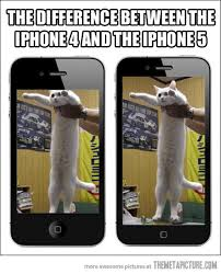 Iphone 4 Meme - vh funny iphone 4 vs iphone 5
