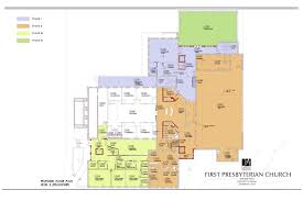 floor plans first presbyterian church