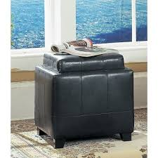 Espresso Storage Ottoman Espresso Storage Ottoman With Tray Rc Willey Furniture Store