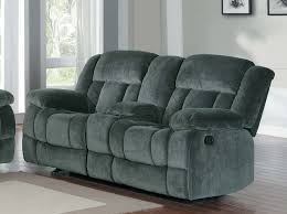 Reclining Sofa With Center Console Homelegance Laurelton Glider Reclining Seat With