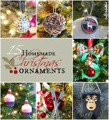 Home Made Christmas Decor Homemade Christmas Ornaments 15 Diy Projects