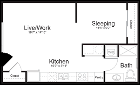 Live Work Floor Plans Live Where You Work The Tomscot