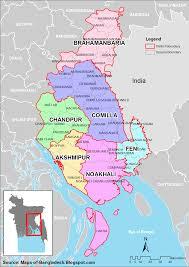 Bay Of Bengal Map Bangladesh District Map U2022 Mappery