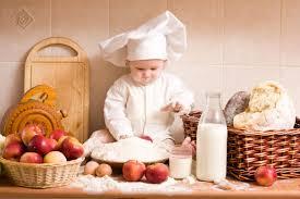 cuisine bébé chef bébé jouant dans la cuisine hd papier peint de bureau écran
