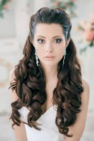 indian hairstyle for long hair for wedding