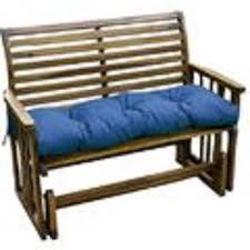Patio Swing Cushions Greendale Home Fashions 44 Inch Outdoor Swing Bench Cushion Capri