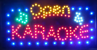 shop open sign lights new arrival running led neon light sign led karaoke shop open signs