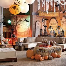 creepy halloween decoration ideas for living room fun fall