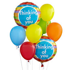 i m sorry balloons for delivery thinking of you balloon bunch at send flowers