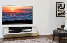 shutter tv wall cabinet natural mahogany wood floating media cabinet below wall mounted