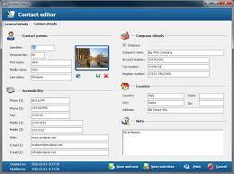 screenshots contact management software