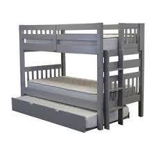 Bunk Bed With Trundle Grey Bunk Bed Walmart Latitudebrowser