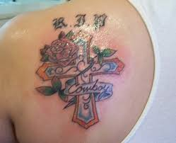 100 memorial cross tattoo index of tattoo designs var