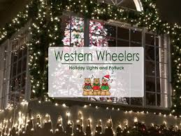 san carlos christmas lights western wheelers bicycle club 2017 holiday lights potluck