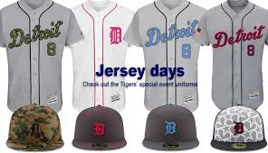 check out special events uniforms hats the detroit tigers will