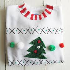 adults make your own christmas jumper craft kit by sarah hurley