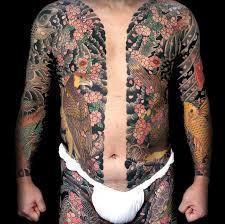yakuza tattoos japanese members wear the culture of crime