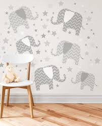 elephant decor ideas huge art for your walls brewster elephants ton love wall art kit