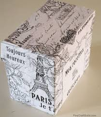 wrapping paper box diy recipe box vintage wrapping paper freebie