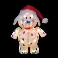 rudolph 18 in led 3d pre lit misfit elephant 90322 mp1 the home