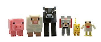 amazon com minecraft animal toy 6 pack toys u0026 games