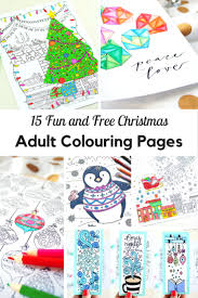 fun and free christmas colouring pages mum in the madhouse