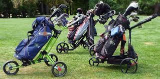2018 best golf push carts reviews