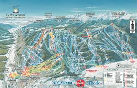 Big Sky Trail Map Skiing U0026 Snowboarding Durango Mountain Resort Colorado Ski