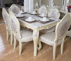 italian dining room sets dining table set classic white italian dining table set 6 chairs