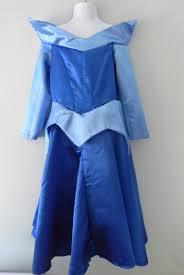 sleeping beauty aurora dress costume in blue size 3 to 6