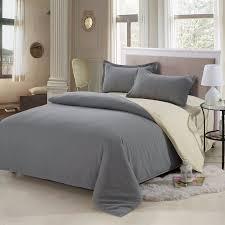 Solid Colored Comforters 4pcs Solid Color Bedding Set Duvet Cover Sets Bed Linen Bed Sets