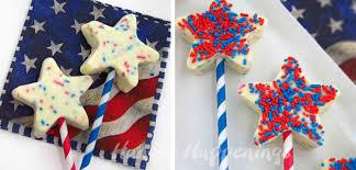 red white and blue fudge stars patriotic dessert