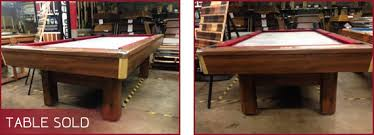 used pool tables for sale by owner used pool tables c p dean richmond virginia