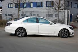mercedes 2014 s class spyshots 2014 w222 mercedes s class almost undisguised