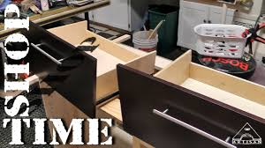 How To Turn A Dresser Into A Bathroom Vanity by Modifying Vanity Drawers For Plumbing Part 1 The Mods Youtube