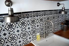 Carrelage Cuisine Moderne by Carreaux De Ciment Mural Cuisine Indogate Com Robinet Mural Salle