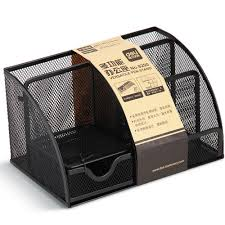 deli 9200 metal mesh versatile pen stand for desk accessories