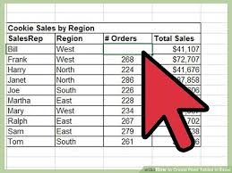 How To Remove Pivot Table 3 Easy Ways To Create Pivot Tables In Excel With Pictures