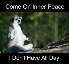 Inner Peace Meme - come on inner peace i don t have all day dank meme on me me