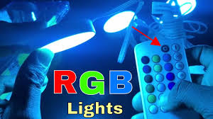 rgb led puck lights rgb led puck light kit for youtube videos white finish youtube